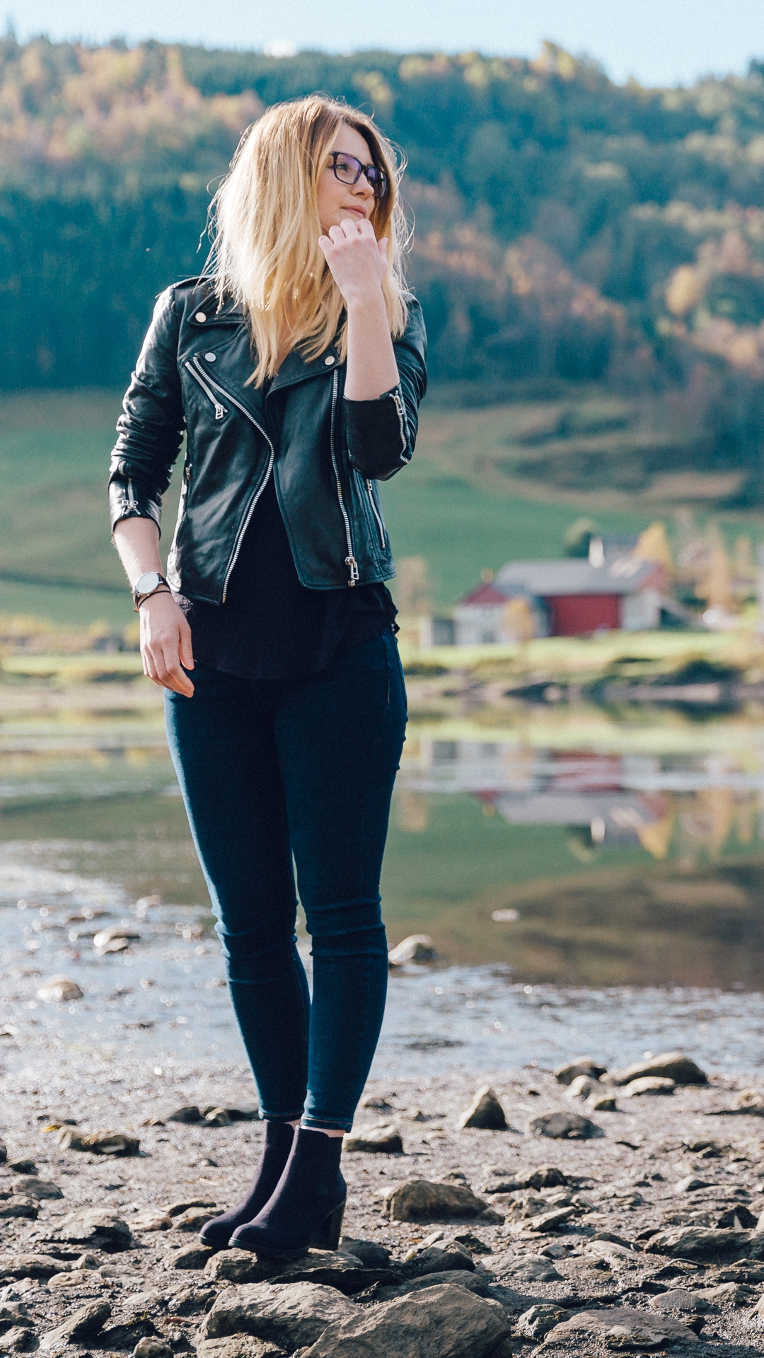 Tiny Twisst Leather Jacket Norway Potrait-1