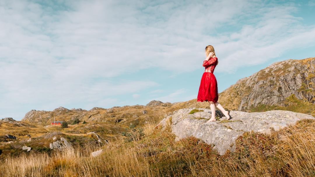 Tiny Twisst Red Dress Norway-2