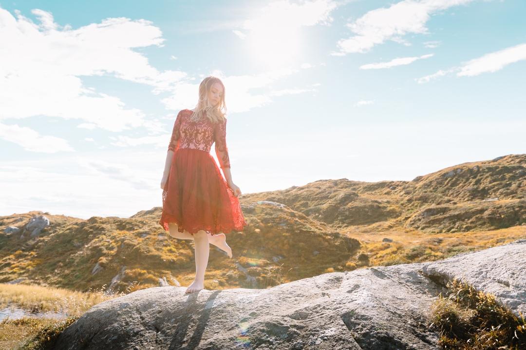 Tiny Twisst Red Dress Norway-5