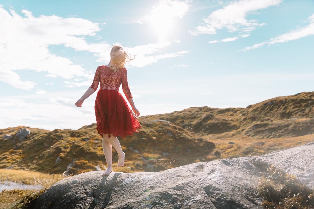Tiny Twisst Red Dress Norway-4