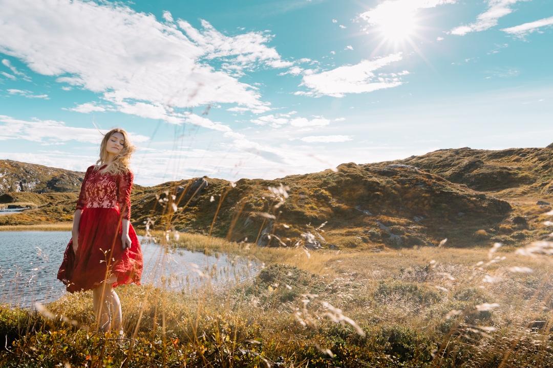 Tiny Twisst Red Dress Norway-6